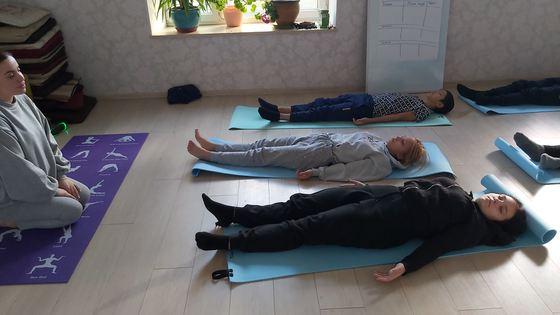 Projekta dalībnieki ieguva prasmes nodarboties ar jogu, ko varēs izmantot pēc projekta laika un ieguva dāvanā jogas paklājiņus