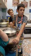 Projekta dalībnieki ieguva prasmes veselīga ēdiena pagatavošanā pieredzējuša šefpavāra vadībā